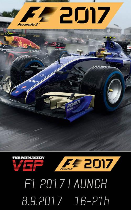 F1 2017 Launch
