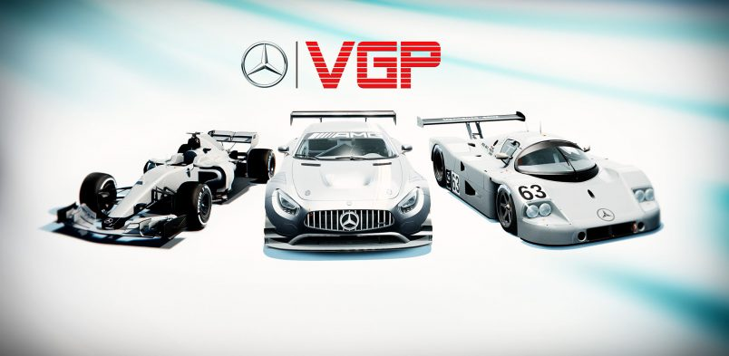 Mercedes-Benz Virtual GP Announcement