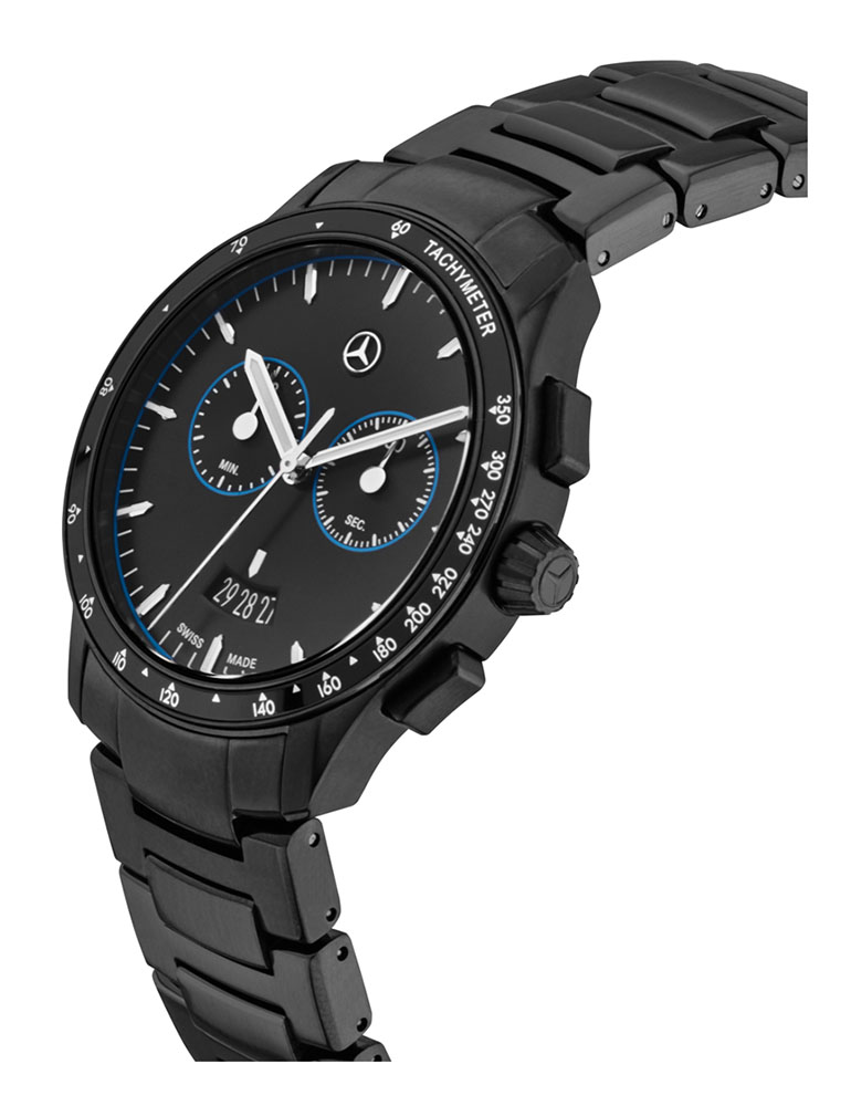 Win Mercedes-Benz Black Edition Business chronograph watch!
